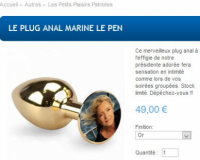 Plug anal boutique FN